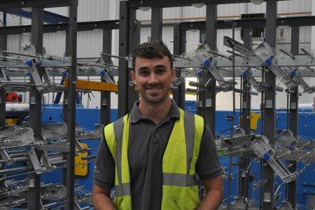 Joe Martin Apprentice of year 20152