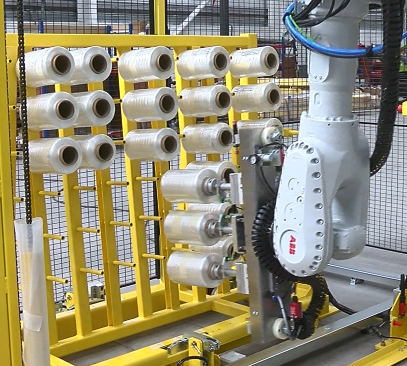 Packaging and Handling Automation Robotic handling