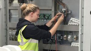Katey Ikin engineering apprentice
