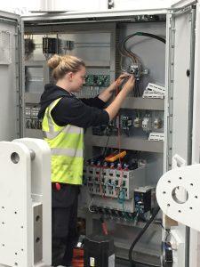 Katey Ikin apprentice qualification