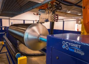 Cygnet Texkimp supplies Filament Winder to Solvay, 2020