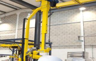 Lift Loader Automation Roll Handler